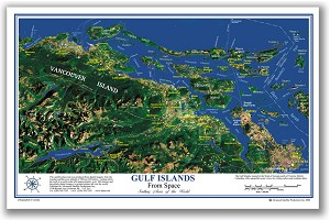 Gulf Islands Place Map