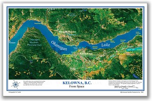 Kelowna Place Map