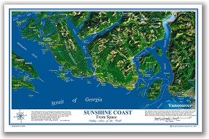 Sunshine Coast Place Map